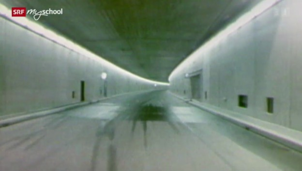 Video «Zeitreise: Der Gotthard-Strassentunnel (27/31)» abspielen