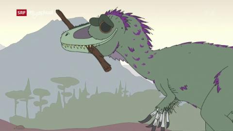 Ralph und die Dinosaurier: Dryptosaurus (4/26)