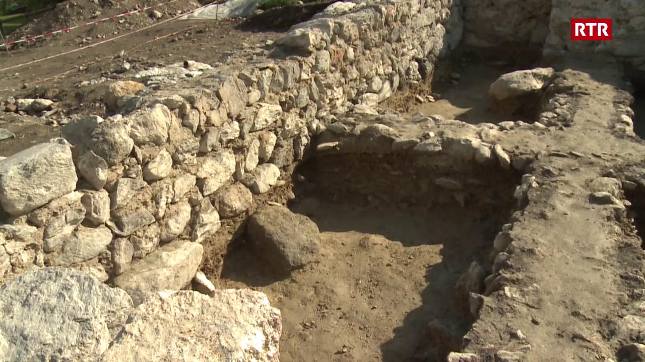 Chattà ruina d'ina chaplutta a Santa Maria