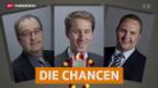 Video «Bundesratswahl: Wer hat die besten Chancen?» abspielen