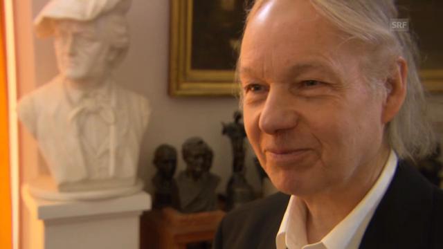 Armin Trösch auf die Frage, ob er ein «richtiger» Wagnerianer sei