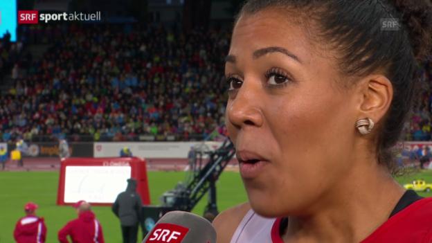 Video «LA-EM: Rang 5 für Kambundji über 200 m» abspielen