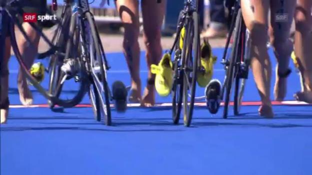 Video «Triathlon: Mixed-Team-WM in Hamburg («sportpanorama»)» abspielen