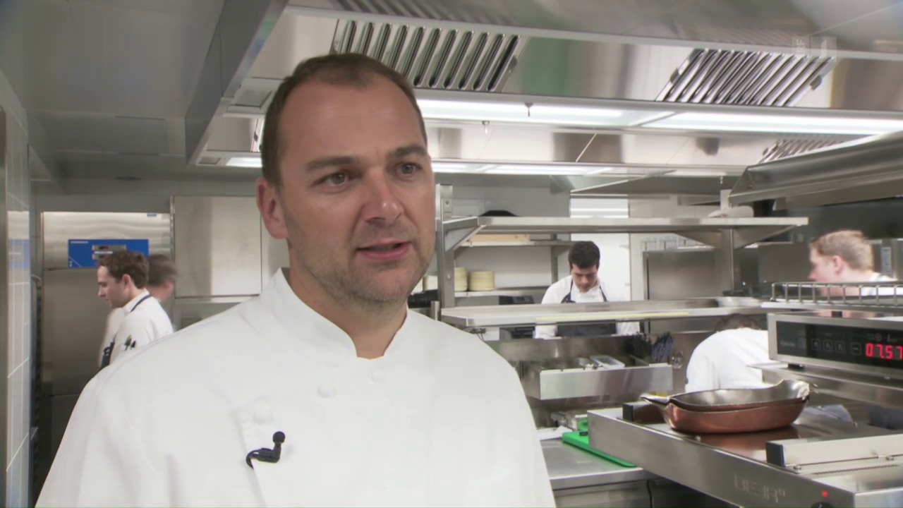 Daniel Humm - ein Kochidol im Schnee