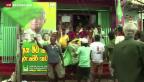Video «Sri Lanka: Ex-Präsident scheitert bei Wahlen» abspielen