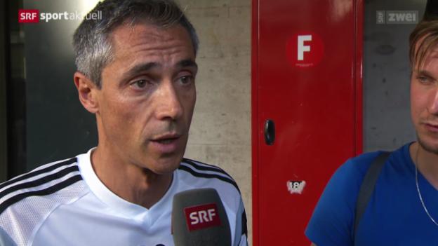 Video «Fussball: Basel vor dem Saisonstart» abspielen