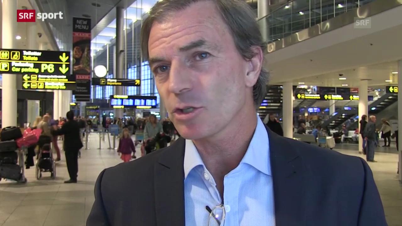 Heinz Günthardt über Federers Trennung von Annacone («sportpanorama»)
