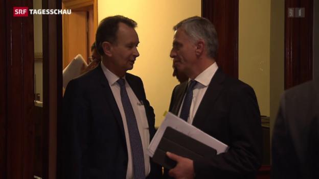 Video «FDP zur Umsetzung der SVP-Zuwanderungsinitiative» abspielen