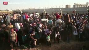Video «Flüchtlingsdrama in der Türkei» abspielen