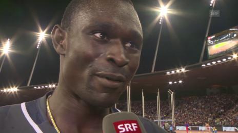 Video «Leichtathletik, Weltklasse Zürich, Inti David Rudisha» abspielen