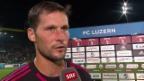 Video «Fussball: Super League, David Zibung im Interview» abspielen