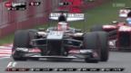 Video «Formel 1: Das Rennen des Sauber Teams» abspielen