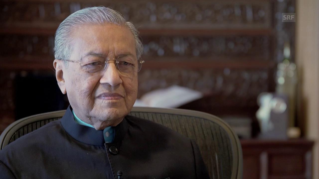 Mahathir Mohamad: «Najib ist ein Monster»
