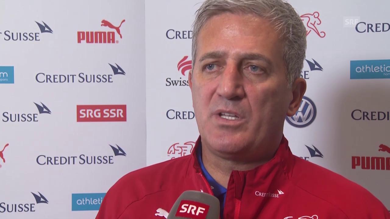 Fussball: Nati-Trainer Vladimir Petkovic über sein Aufgebot für die Testspiele gegen die Slowakei und Österreich