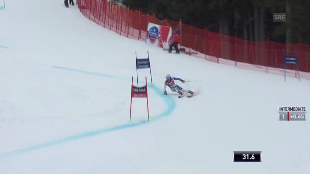 Video «Ski Alpin: Abfahrt Männer in Alta Badia, 1. Lauf von Janka («sportlive», 22.12.2013)» abspielen