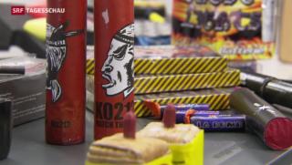 Video «Feuerwerkskörper aus dem Ausland» abspielen