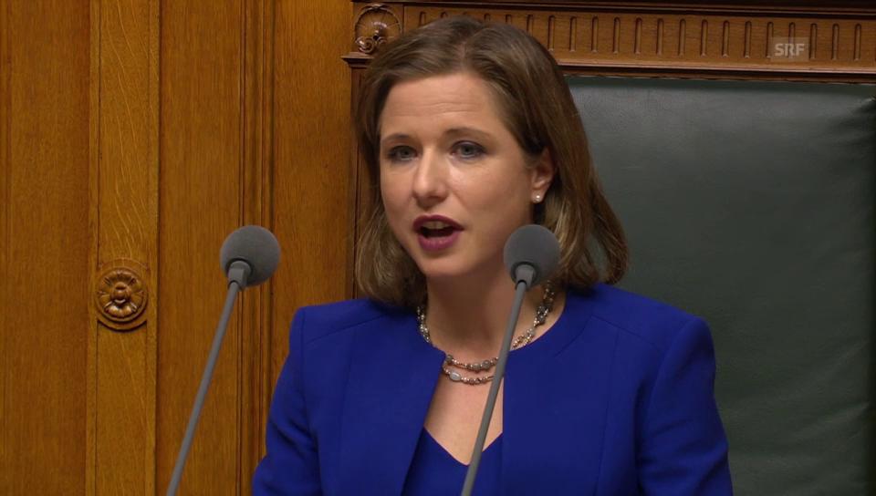 Christa Markwalder: «C'est le ton qui fait la politique»