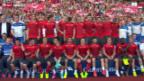 Video «Fussball: Das Abschlusstraining der Nati» abspielen