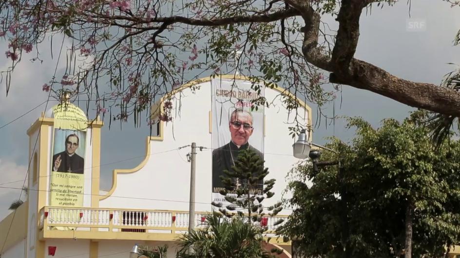 Video «Erzbischof Romero, sein Volk und Papst Franziskus» abspielen