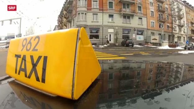 Video «Kampfansage an Zürcher Taxis» abspielen