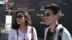 Video «Bedrückte Stimmung unter Touristen und Lokalen» abspielen
