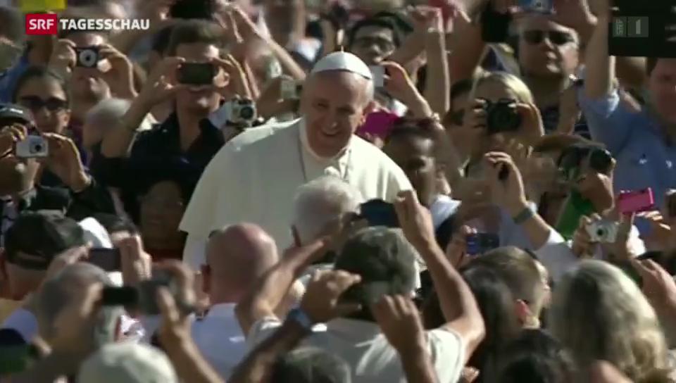 Papst Franziskus plädiert für eine Wende der katholischen Kirche