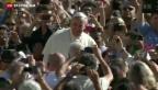 Video «Papst Franziskus plädiert für eine Wende der katholischen Kirche» abspielen