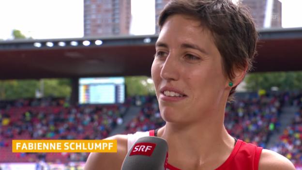 Video «Fabienne Schlumpf im Interview» abspielen