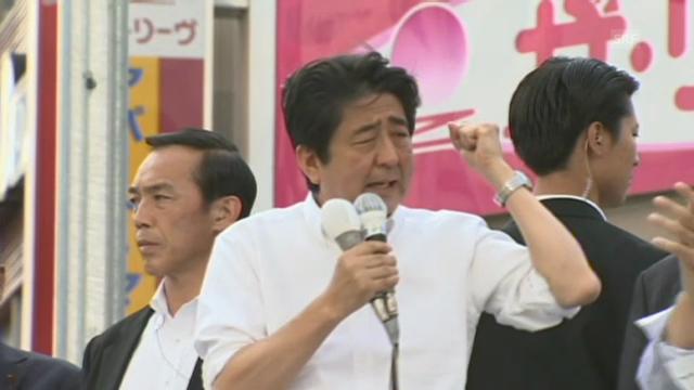 Japans Premier im Wahlkampf