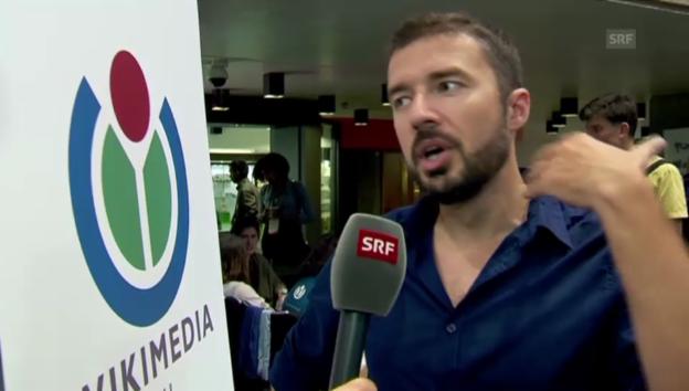 Video «Stéphane Coillet-Matillon: «Wir wollen noch mehr freie Inhalte»» abspielen