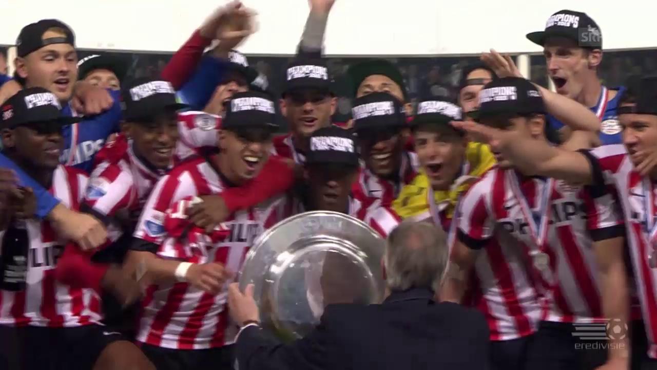 Fussball: PSV Eindhoven und Olympiakos Piräus sind Meister