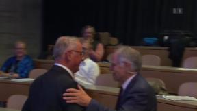 Video «Ein Wiedersehen mit einem politischen «Traumpaar»» abspielen