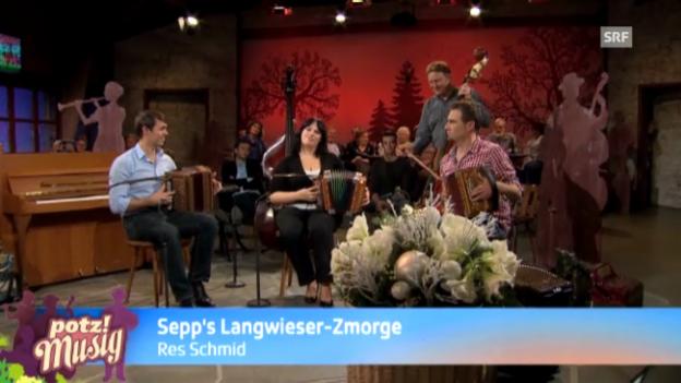 Video «Sepps Langwieser-Zmorge - Res Schmid» abspielen