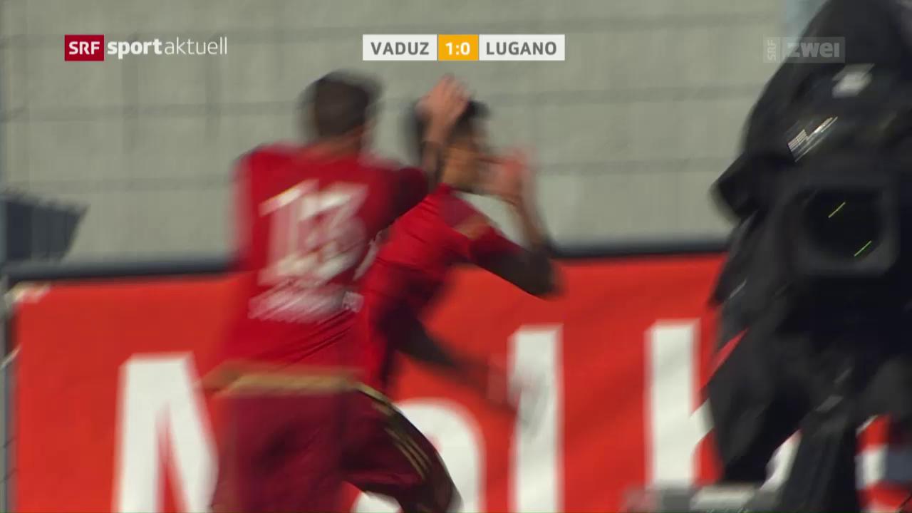 Lugano erkämpft sich einen Punkt in Vaduz