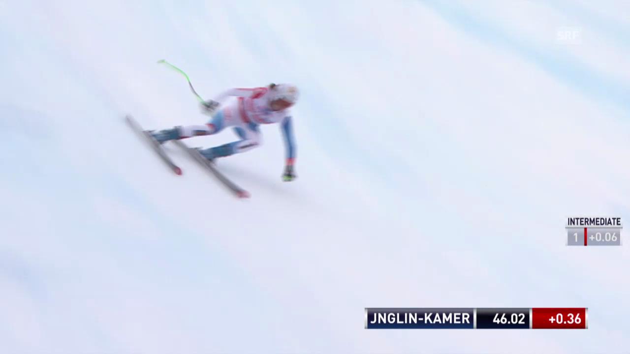 Ski: Weltcup, Abfahrt Crans-Montana, Fahrt von Jnglin-Kamer