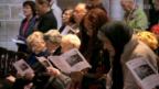 Video «Trauerfeier für Trudi Gerster» abspielen