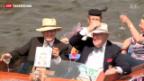 Video «Die Queen trägt seit 60 Jahren die Krone» abspielen
