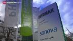 Video «Sonova steigert Gewinn und Umsatz» abspielen
