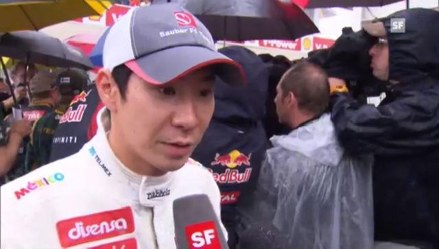 F1: Kamui Kobayashi zu seiner Zeit bei Sauber (englisch)