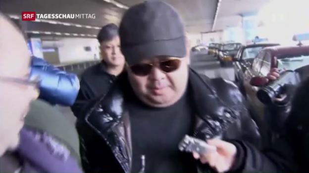 Video «Galt nie als Regimegegner: Kim Jong Nam» abspielen