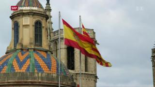 Video «In Katalonien wird Kopf-an-Kopf-Rennen erwartet » abspielen