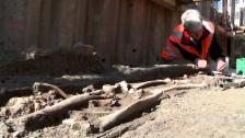 Video «Archäologen am Zürcher Münsterhof» abspielen