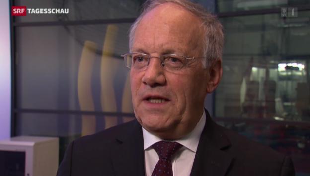 Video «Schneider-Ammann: «Initiative bringt Starrheit ins System.»» abspielen