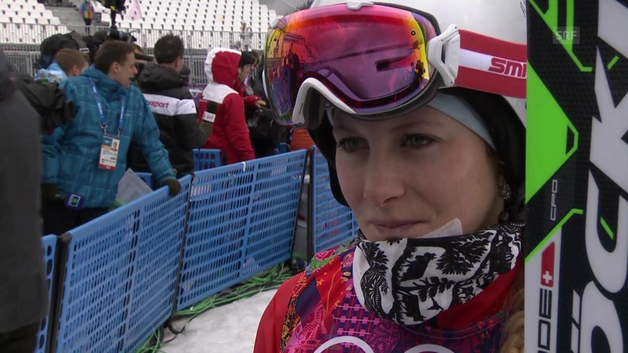 Skicross: Frauen, Interview mit Fanny Smith (sotschi direkt, 21.2.2014)