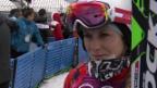 Video «Skicross: Frauen, Interview mit Fanny Smith (sotschi direkt, 21.2.2014)» abspielen