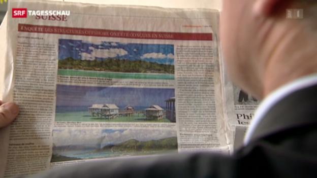 Video «Auch Kantonalbanken im Fokus von Offshore-Leaks» abspielen
