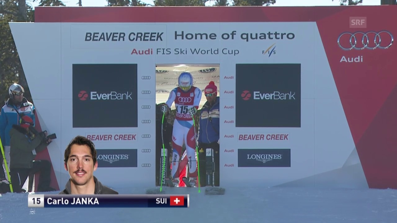 Ski Alpin: Jankas solide Fahrt in Beaver Creek