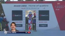 Video «Ski Alpin: Jankas solide Fahrt in Beaver Creek» abspielen