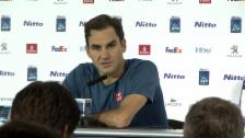 Link öffnet eine Lightbox. Video Federer: «Habe nicht auf das nötige Level gefunden» abspielen