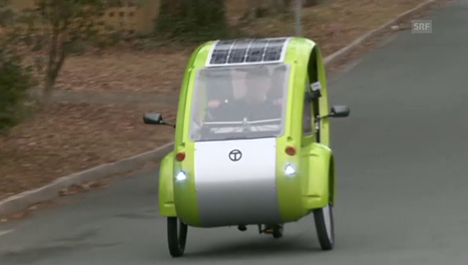 Das Velo, das ein Auto sein will